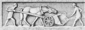 Roman Harvester 170 BC